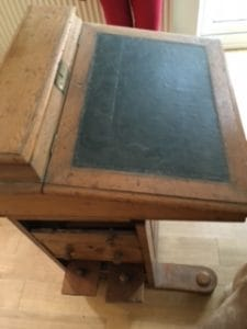 A picture of a Davenport Desk