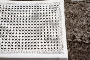 A picture of a white chair