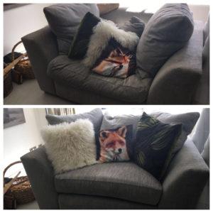 bespoke cushion interiors